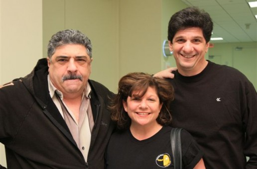 Vincent Pastore, Suzy Yenga and Steve
